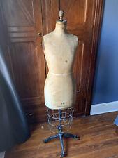 Vintage 1932 Bauman Model Co. Dress Form
