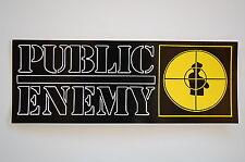 """Public Enemy Sticker Decal Bumper Window Indoor/Outdoor 8"""" X 3"""" (222)"""
