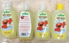 4 Pk Sesame Street Baby Wash Lightly Scented Made In Usa Hypoallergenc