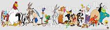 New! Extra Large Looney Tunes Panoramic Photo Print Warner Bros Bugs Daffy Porky