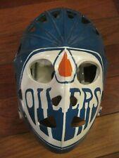 Edmonton Oilers Goalie Mask Vintage Mylec Street Hockey Unused Gretzky Fuhr