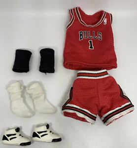 Vintage Barbie Chicago Bulls Basketball Uniform 1998 Sports