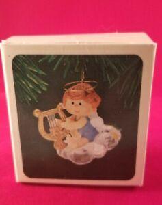 "Hallmark 1982 Christmas Ornament ""Musical Angel"" Vintage 1982 In Box"