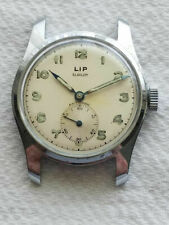 Selling  Used Vintage Classic LIP ELGILOY Chromium Cased Wrist Watch/Military??
