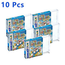 10 Pcs Game Box Protector Console Clear Case For Nintendo Game Boy GBA Boxed