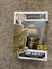 Funko Pop Lemmy Kilmister Golden Lemmy Motorhead