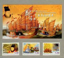 Hong Kong 2005 Zheng He's Maritime S/S + Stamps