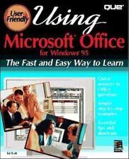 Using Microsoft Office for Windows 95 [Oct 01, 1995] Bott, Ed