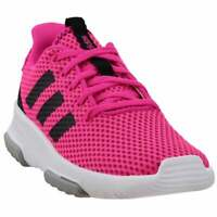 adidas Cf Racer Tr Lace Up   -  Kids Girls  Sneakers Shoes Casual   - Pink
