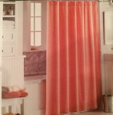 """Threshold Coral/White Dot Shower Curtain 72"""" x 72"""" - Brand New Sealed Fast Ship!"""