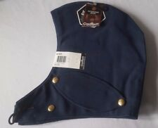 Carhartt Outerwear Navy Blue Snap Hood w/Quilted Red Lining NWT