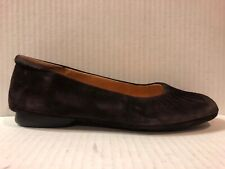 "ME TOO ""Starwood"" Brown Suede Leather Ballet Flats Size 10 $70"