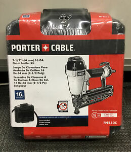 "Porter Cable FN250C 2-1/2"" Finish Nailer Kit NEW #2"