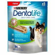 Dentalife Medium Dog Dental Chew Sticks 5 Daily Oral Care 115g Reduce TarTar