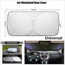 1x Car Front Rear Window Protection Windshield Cover UV Visor Shade Sun 150*70cm