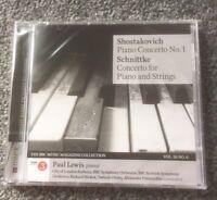 SHOSTAKOVICH PIANO CONCERTO NO 1 CD BBC SCHNITTKE CONCERTO FOR PIANO AND STRINGS