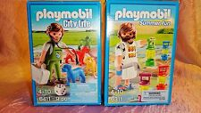 Playmobil VETERINARY & BBQ GAMES #6411 & #6311 MIB