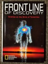 National Geographic Hardcover Book Frontline of Discovery Science of Tomorrow