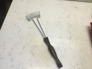 Cutco Whisk Whip Egg Beater Brown Handle Wire Wisk