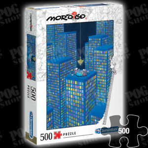 NEW SEALED Clementoni MORDILLO - THE DINNER 500 Piece Jigsaw Puzzle 35077