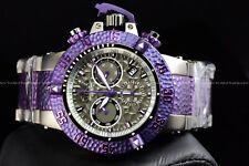 Invicta 50mm Subaqua Noma III Hammer Swiss Chrono Mermaid Purple Titanium Watch
