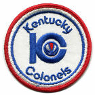 """1970-76 KENTUCKY COLONELS ABA BASKETBALL VINTAGE 3"""" ROUND TEAM LOGO PATCH"""