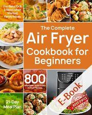 The Complete Air Fryer Cookbook for Beginners ËBooks EPUB/P.D.F - Fast delivered