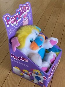 Popples Puffball Vintage New In Box Mattel Classic 1980's Toy Stuffed Animal