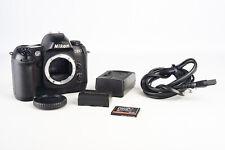 Nikon D100 6.1MP Digital SLR Camera Body with 4GB CF Card Battery & Charger V14