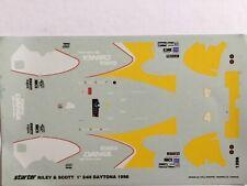 1/43 Decal, Riley&Scott, Danka, #4 Raylor/Sharp/Pace, 1. 24 h Daytona 1996