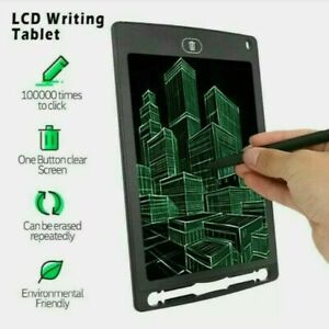 """Electronic Digital LCD Writing Tablet 8.5"""" Drawing Graphics Board for Kids Gift"""