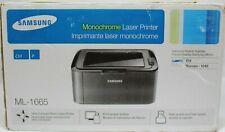 (NEW IN OPENED BOX!) SAMSUNG ML-1665 Monochrome Laser Printer Monochrome USB