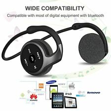 NEW EGRD Bluetooth Headset Bluetooth 4.1 Stereo Over-Ear Sport Bluetooth 3 in FM
