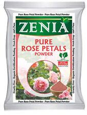 50g Zenia 100% Pure Rose Petals Powder for Facial Mask Formulation