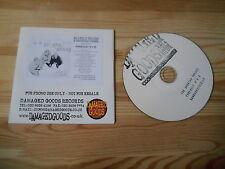 CD Punk Billy Childish - Forensic R'n'B (14 Song) Promo DAMAGED GOODS