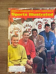 1968 Sports Illustrated CARDINALS (MARIS, BROCK, GIBSON) 10/07/1968