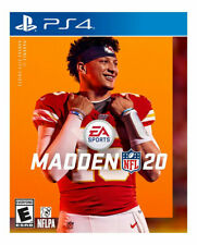Madden NFL 20, PS4, Playstation 4, Brand New, Sealed!!!!