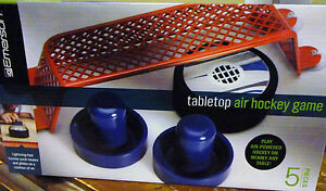 EMERSON TABLETOP AIR POWERED HOCKEY GAME 5 PIECE SET NEW IN BOX