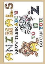 Animals Know Their Abc's a to Z So Can You! by Mark Byckowski (2013, Paperback)