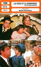 FICHE CINEMA : LA PUCE ET LE GRINCHEUX - Matthau,Andrews 1980 Little Miss Marker