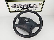TOYOTA AVENSIS 03-08 MULTIFUNCTION LEATHER STEERING WHEEL WITH AIR BAG