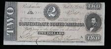 Feb 17 1864 Csa $2 T-71