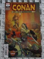 Conan The Barbarian (2018) Marvel - #1, Life and Death Part 1, Aaron/Asrar, NM