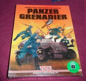 Atari panzer grenadier  400/800/XL/XE 48K Disk game new and sealed very rare