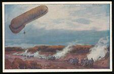 657940) Zeppelin AK Fesselballon Artilleriewirkung beobachtend