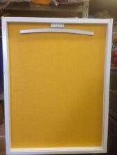 US Made, UV White Frame, Jersey Display Case Shadowbox , FREE SHIP & FELT!