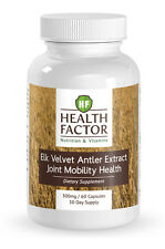 HF Elk Velvet Antler Extract Joint Mobility and Muscle Growth Support 60 Caps