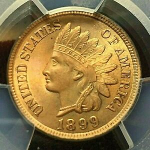 1899 Indian Head Small Cent Beautiful Uncirculated
