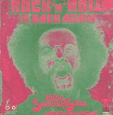 "LITTLE SAMMY GAHA – Rock 'N' Roll Is Back Again (1973 SINGLE 7"" HOLLAND)"