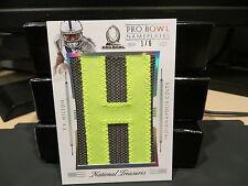 "National Treasures Pro Bowl Nameplates ""H"" Colts T.Y. Hilton 1/6  2015"